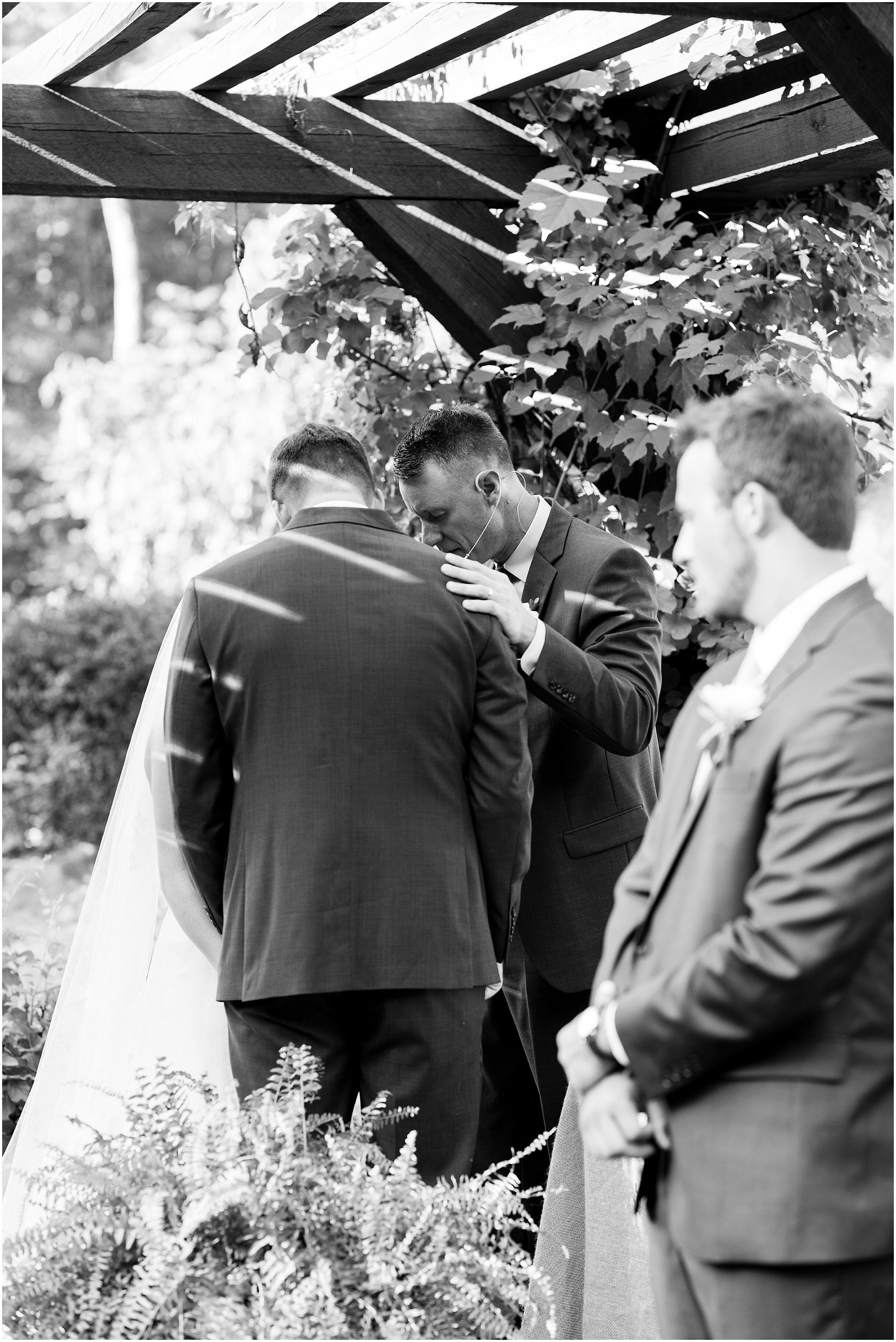 House Mountain Inn Wedding, Virginia wedding in the mountains, wedding ceremony in the mountains