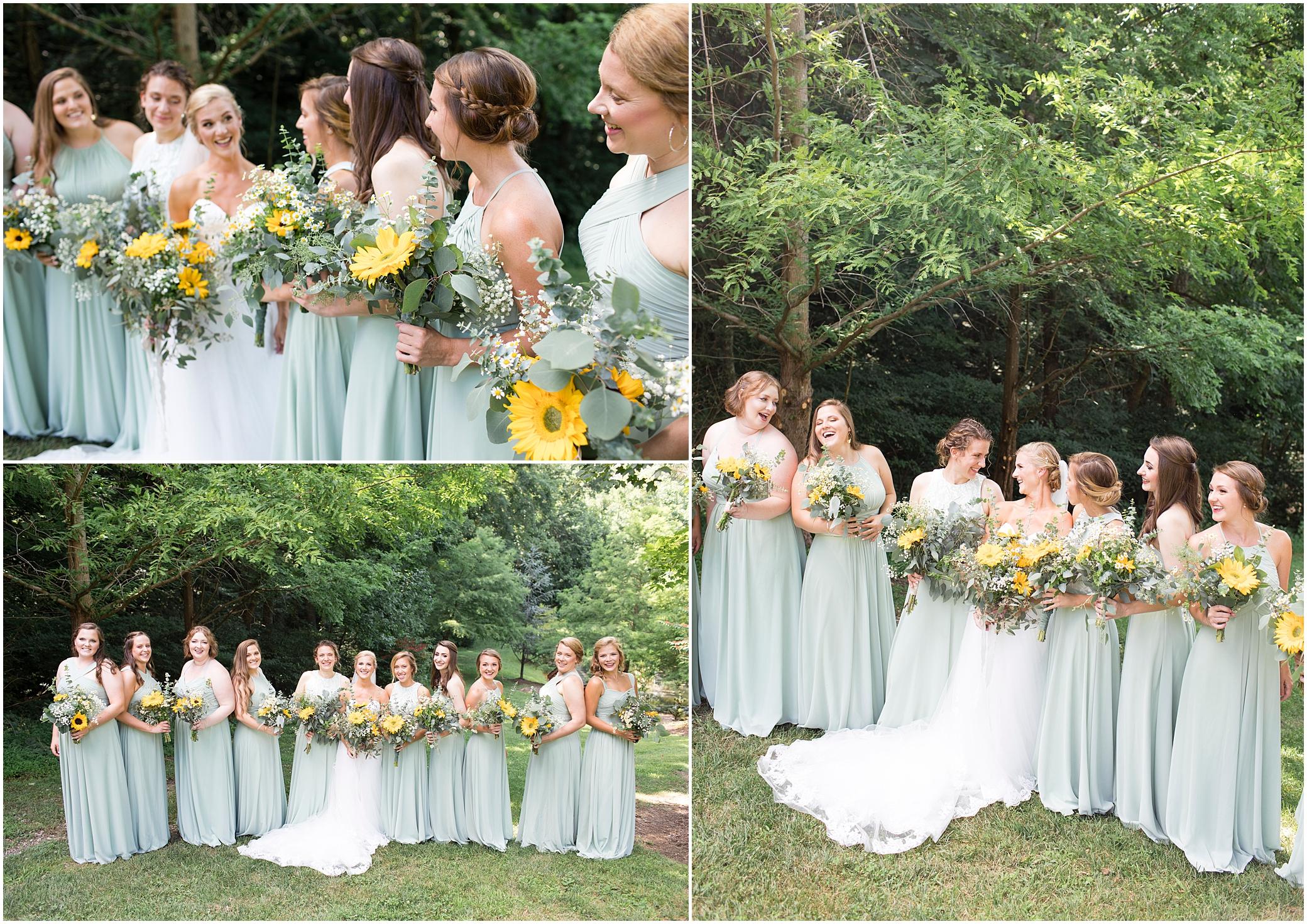 House Mountain Inn Wedding, Virginia wedding in the mountains, bridesmaids