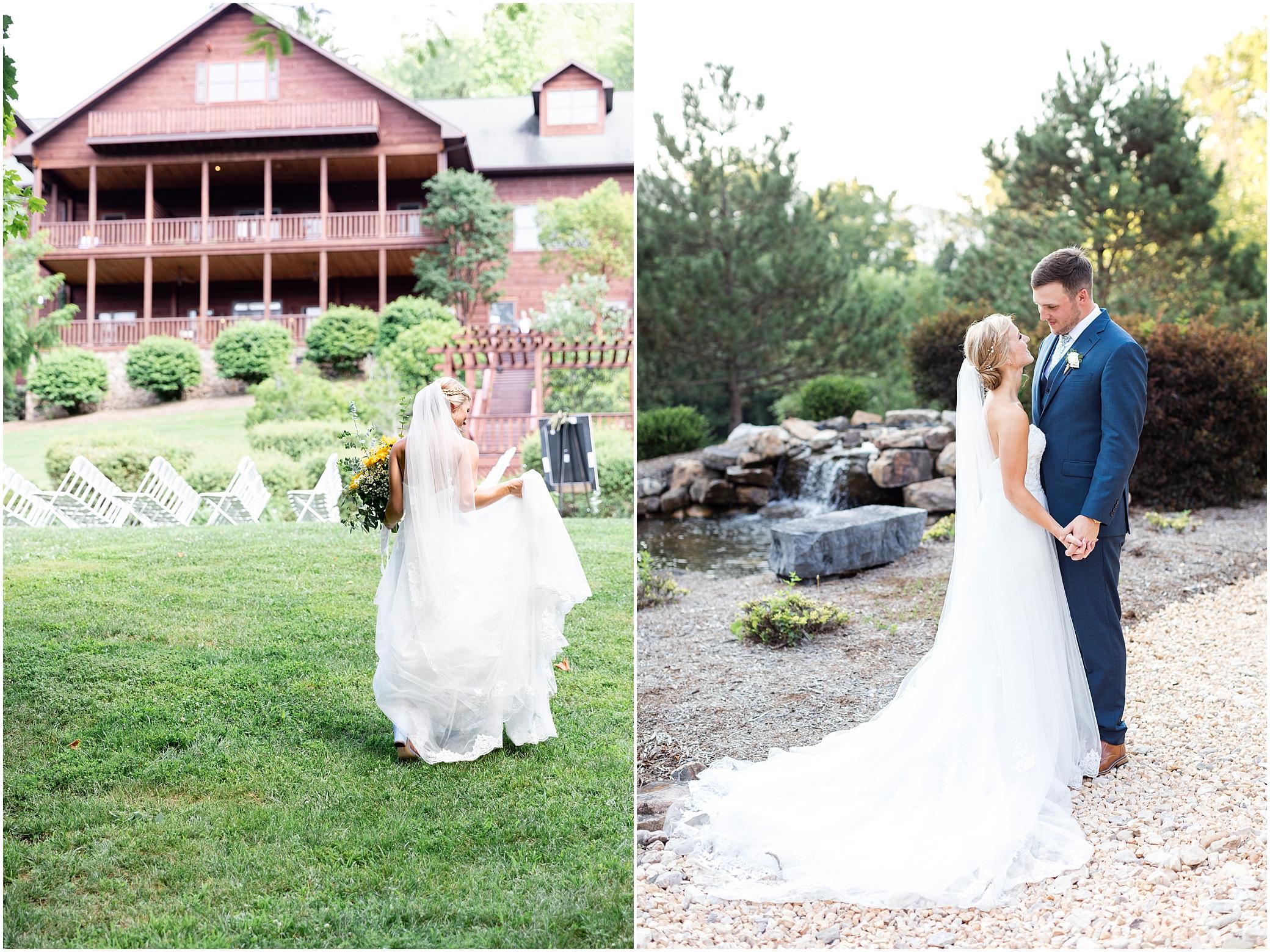 House Mountain Inn Wedding, Virginia wedding in the mountains, bridal portrait