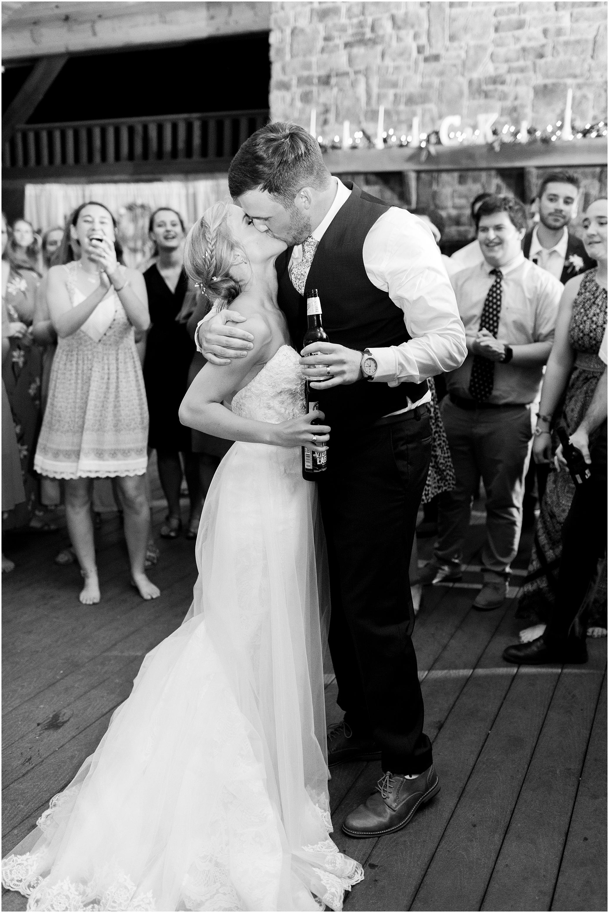 house mountain Inn wedding, wedding reception