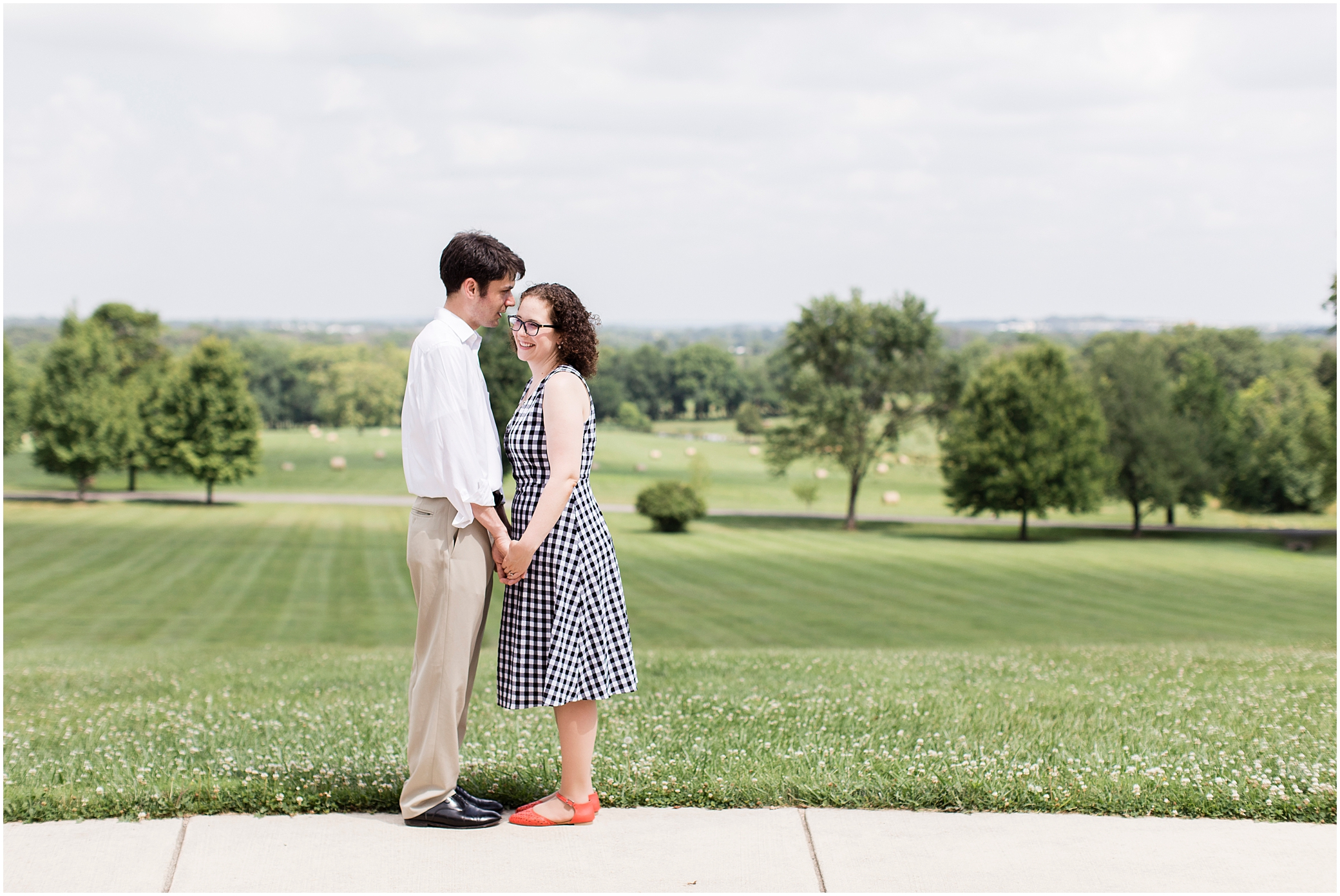 morven park engagement photography, leesburg, virginia