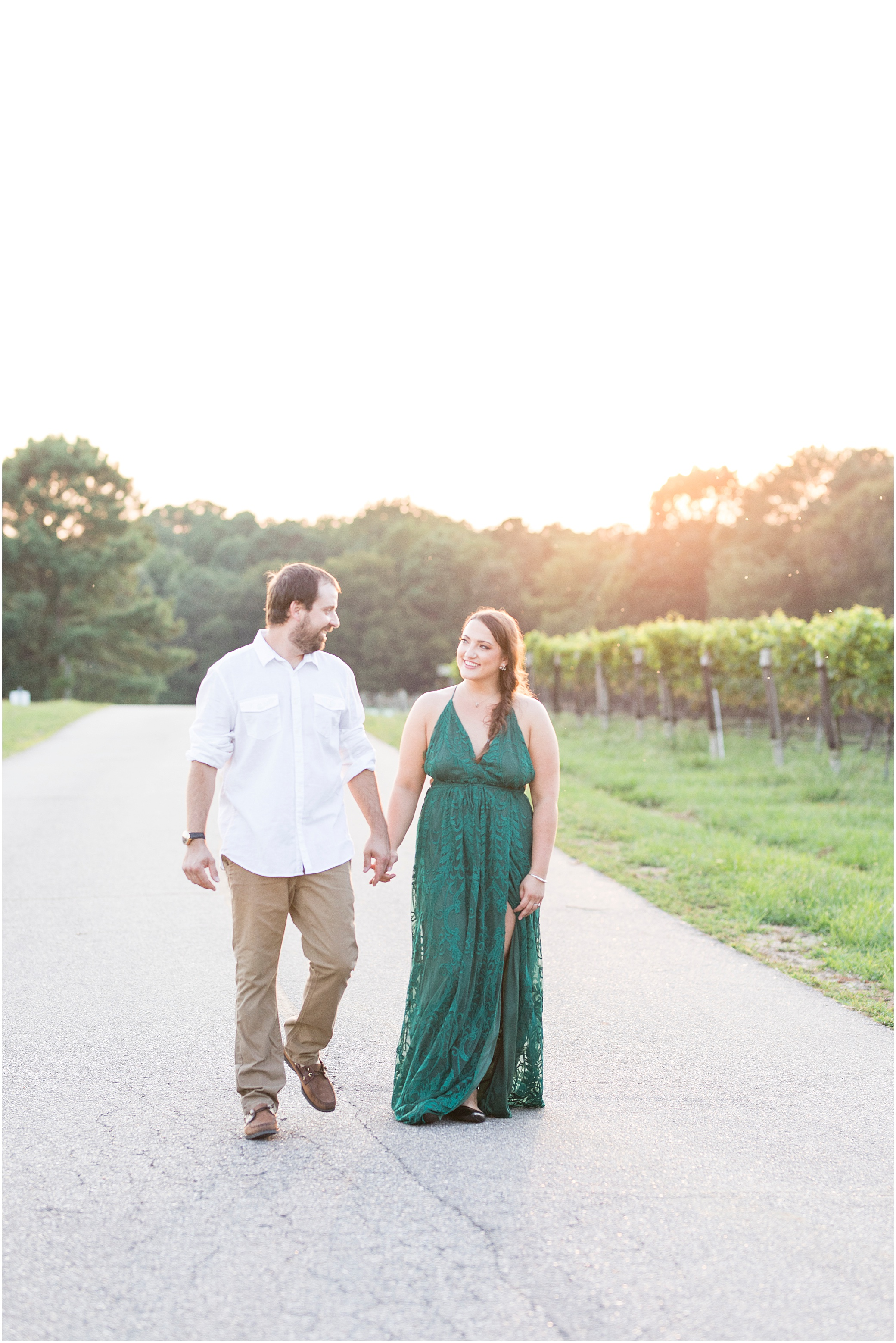 Williamsburg winery, Williamsburg engagement photography